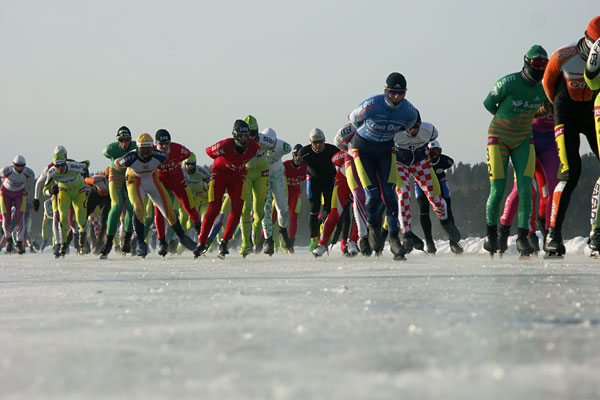 World Grand Prix Marathon Speed Skating 2008.
