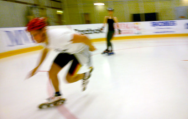Inline camp in Motala 2011.