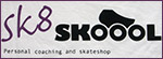 Sk8skool logo (Photo taken on my t-shirt)