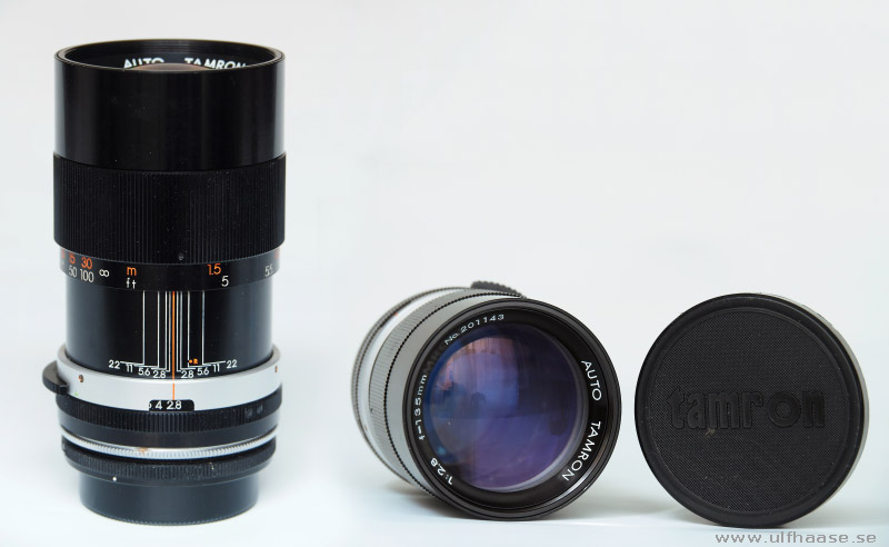 Tamron Auto 135mm f/2.8 with Tamron Adapt-A-Matic lens mount