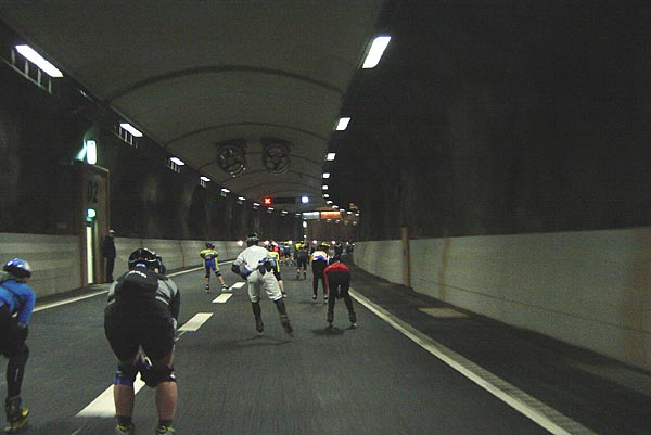 The Tunnel race